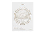 STELLAVIE DESIGN MANUFAKTUR - Southern Sky Print White - Modern Anthology - 2