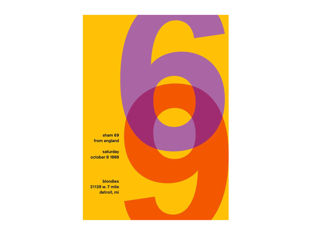 Swissted - sham 69Poster - Home - Decor - Artwork Print - Modern Anthology-