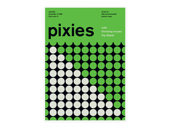 Swissted - The Pixies Poster - Home - Decor - Artwork Print - Modern Anthology-