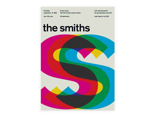 Swissted - Smiths Poster - Modern Anthology - 2