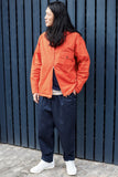 UNIVERSAL WORKS - UW Fistral Jacket, Orange - Clothing - Outerwear - Lightweight Jacket - Modern Anthology-