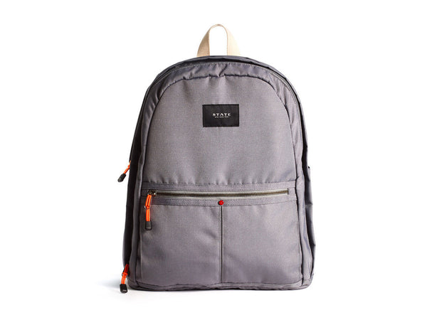 Bedford Backpack, Grey - STATE BAGS - Modern Anthology - 1