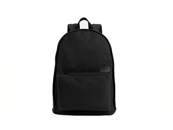 Lorimer Canvas Backpack Black