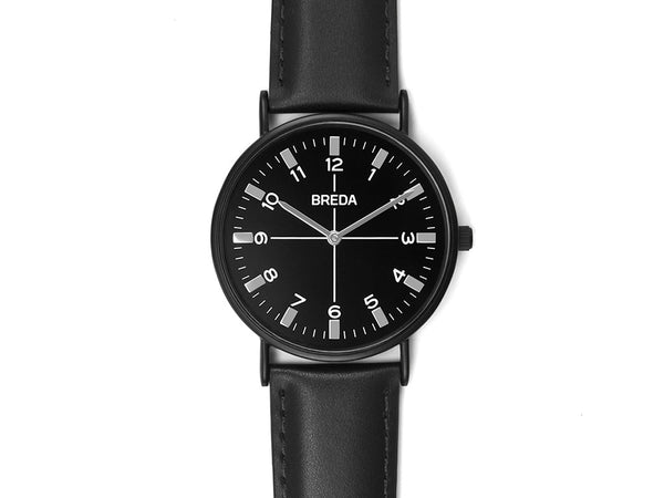 Breda - Belmont Watch Black Black - PERSONAL ACCESSORIES - Watch - Analog Watch - Modern Anthology-
