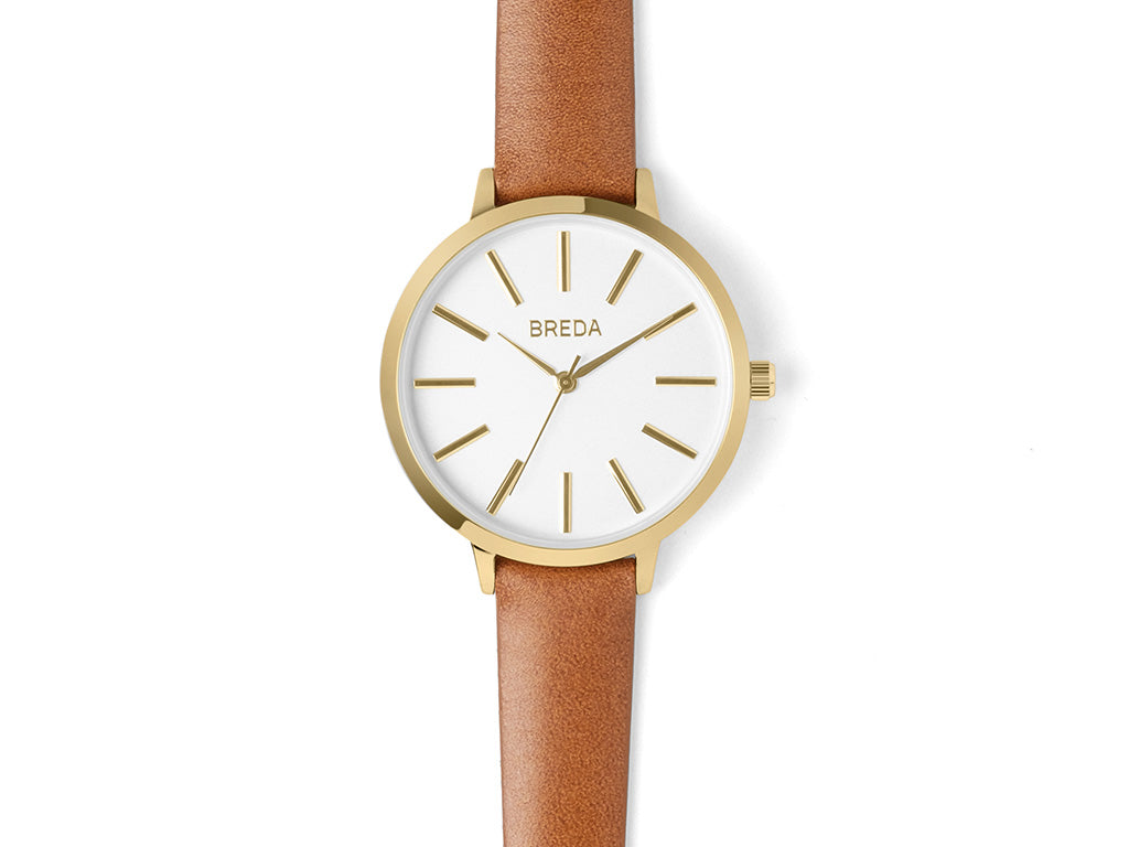 Breda - Joule Watch Gold Brown - PERSONAL ACCESSORIES - Watch - Analog Watch - Modern Anthology-