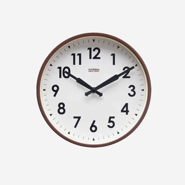 Factory Station Numbers Clock - Available in 3 Colors
