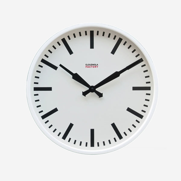 Factory Station Clock Large - Available in 2 Colors