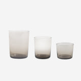 Hawkins New York - Chroma Glassware Smoke - Habitat - Tabletop - Barware - Modern Anthology-