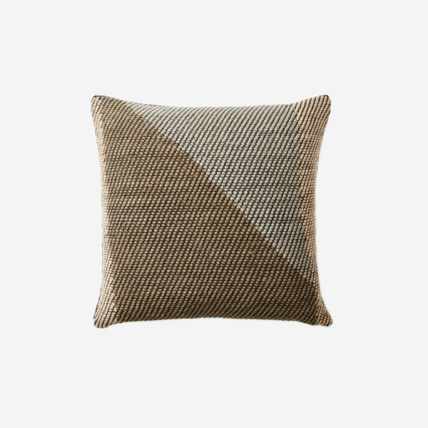 Angle Pillow Coffee - Available in 2 Sizes