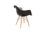 Modernica Inc - Upholstered Fiberglass Armchair - Furniture - Seating - Armchair - Modern Anthology-