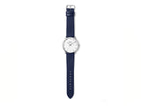 Breda - Breda Phase Watch Silver Navy - Personal Accessories - Watch - Analog Watch - Modern Anthology-