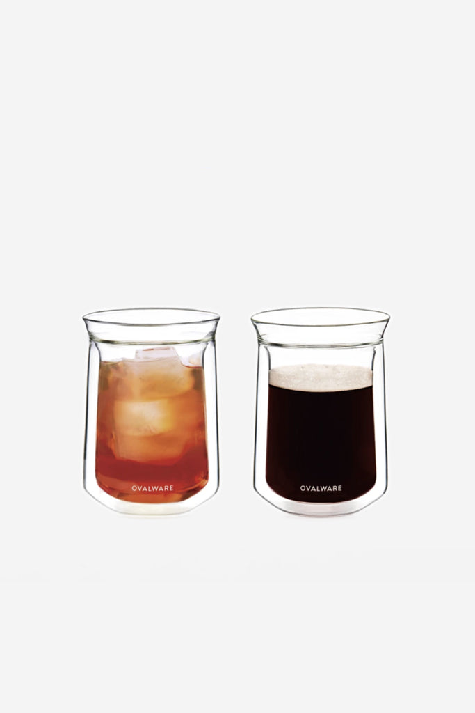 Ovalware Double Wall Glass Set/2