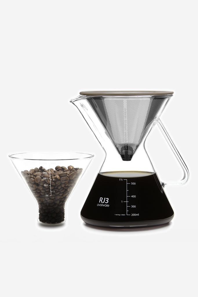 Ovalware - Ovalware Pour Over Coffee Maker - Habitat - Tabletop - Dinnerware - Modern Anthology-