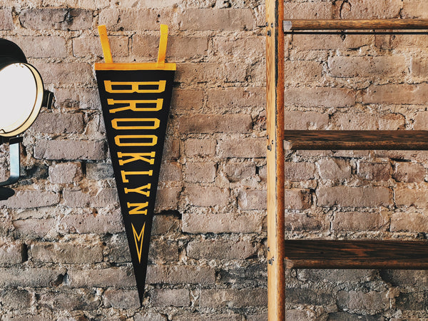 Oxford Pennant - Oxford Pennant Brooklyn - HOME - Decor - Flag - Modern Anthology-