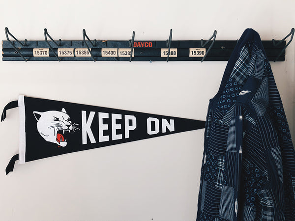 Oxford Pennant - Keep On Tiger Pennant - HOME - Decor - Flag - Modern Anthology-