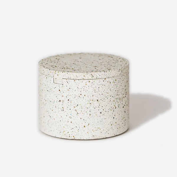 Pretti Cool - Concrete Geo Vessel White - Habitat - Office - Office Accessory& - Tool - Modern Anthology-