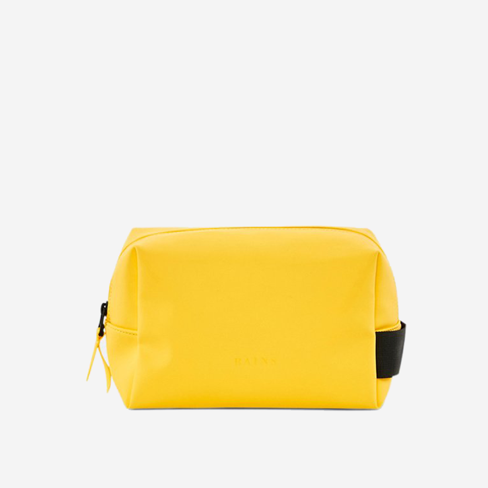 Rains - Rains Dopp Kit Small Yellow - Personal Accessories - Bag - Dopp Kit - Modern Anthology-