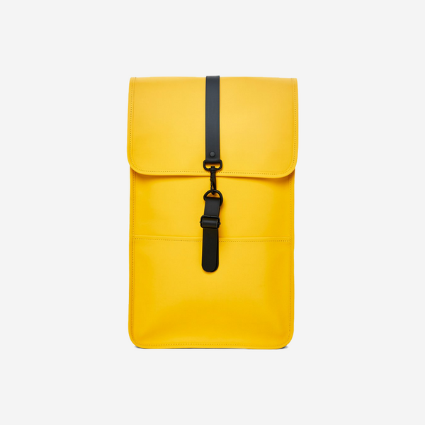 Rains Yellow Backpack