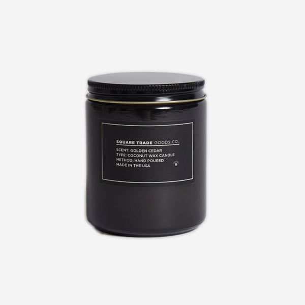 Golden Cedar Candle