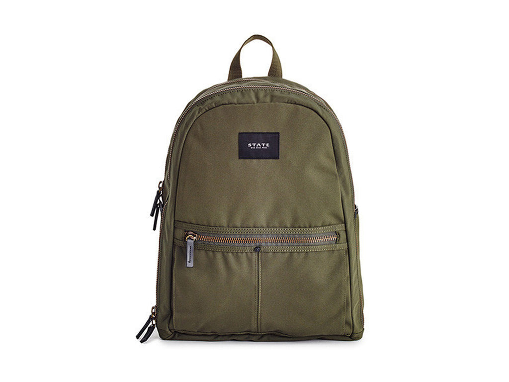 Union Backpack, Olive - STATE BAGS - Modern Anthology - 1