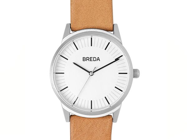 BREDA - Breda Bresson Watch Silver Brown - PERSONAL ACCESSORIES - Watch - Analog Watch - Modern Anthology-