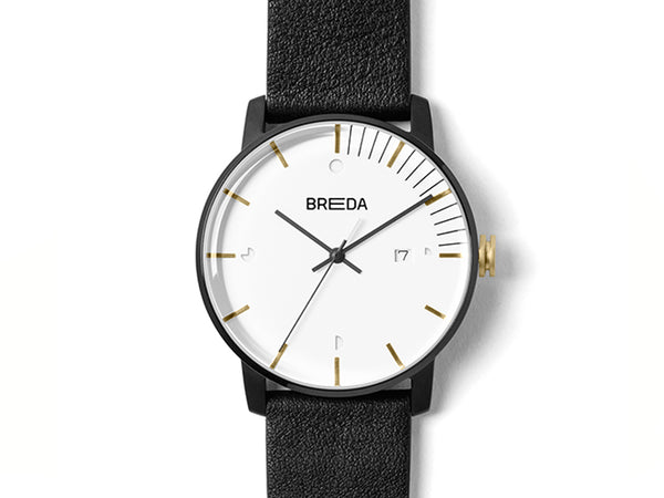 BREDA - Breda Phase Watch Black - PERSONAL ACCESSORIES - Watch - Analog Watch - Modern Anthology-