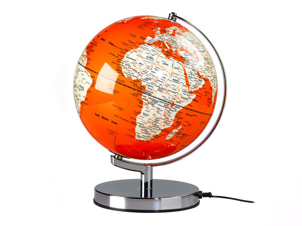 Wild & Wolf - Globe Light Goldfish Orange - HOME - Decor - Clock - Modern Anthology-