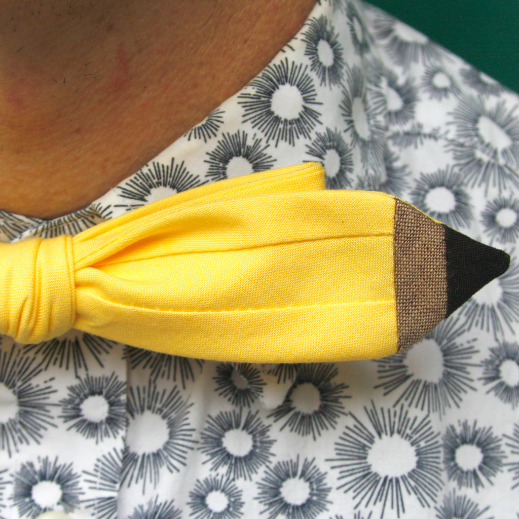 Pencil bow tie