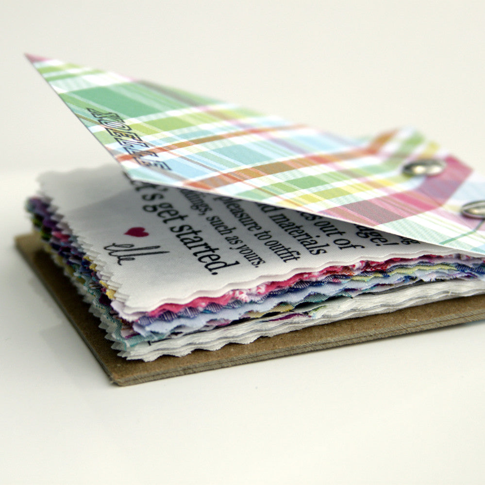 swatchbook // up to 20 fabric samples