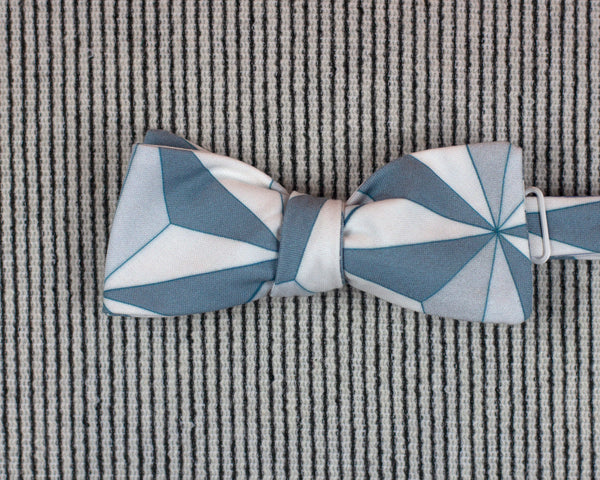 Epcot print batwing bow tie