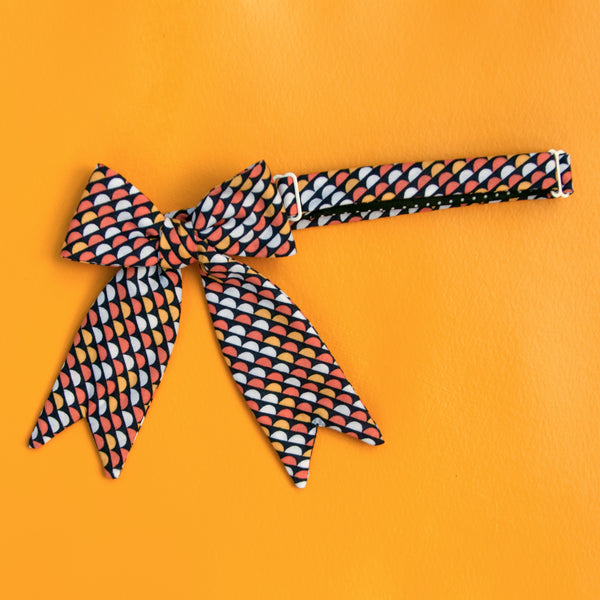 fun size lady gift bow tie