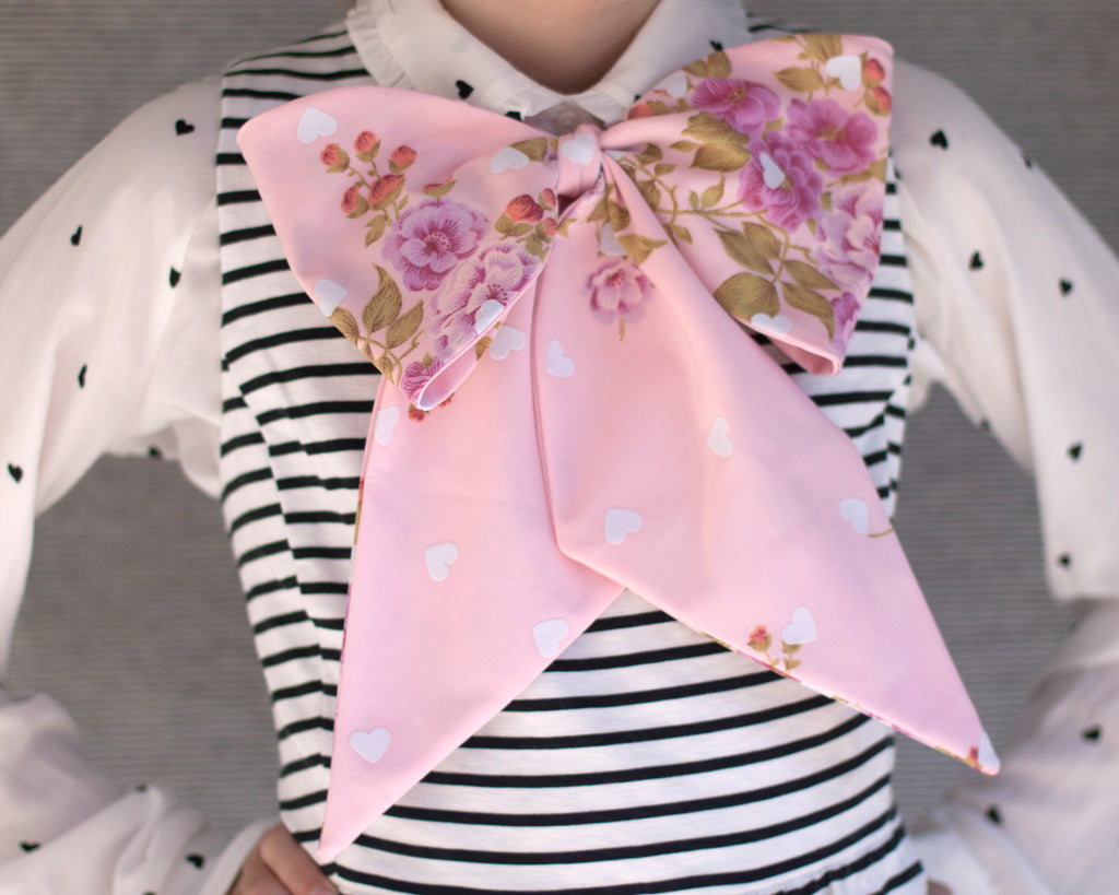 lovey dovey bow tie- January's bow tie of the month!