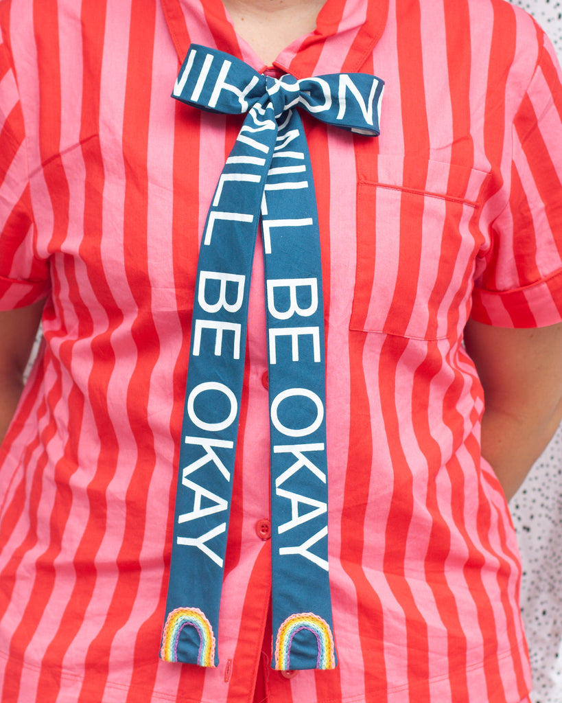 EVERYTHING WILL BE OKAY bow tie