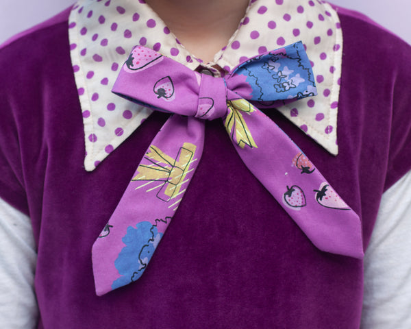 Favorite things bow tie- May's rad bow tie of the month!