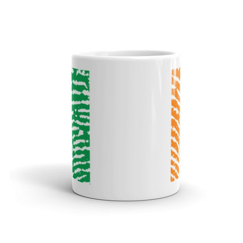 Irish Fingerprint Flag Mug