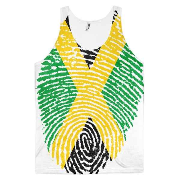 Jamaican Fingerprint Flag Tank