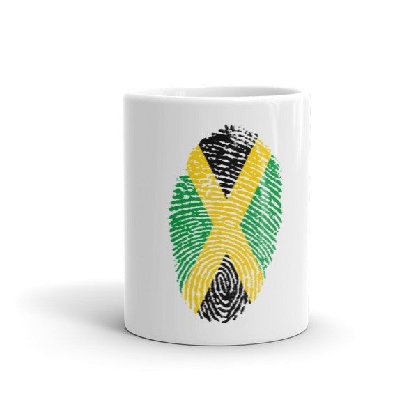 Jamaican Fingerprint Flag Mug