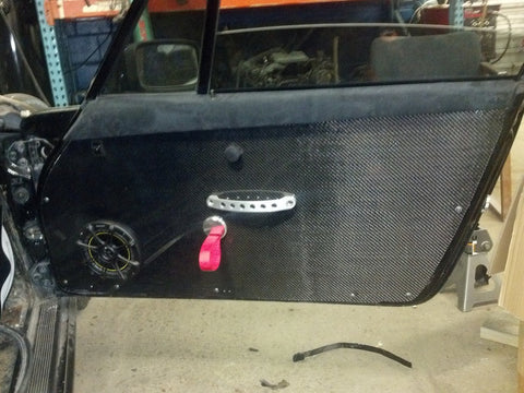 911 Door Panel in Carbon Fiber