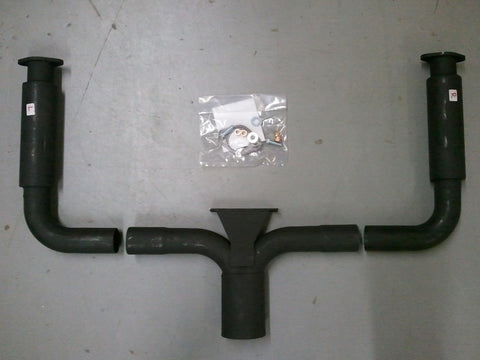 Porsche 911 Stinger Exhaust Pipe With Silencer
