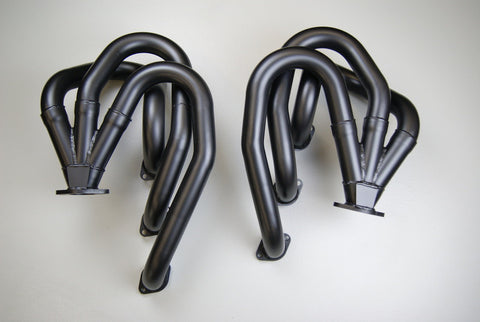 Porsche 911 European Racing Headers for 911 3.4 - 3.8 liter Motors with Street Adaptor - Bexco Automotive