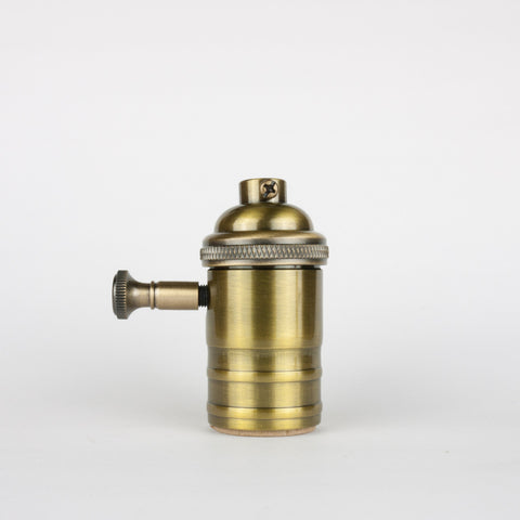 Solid Brass Dimmer Socket