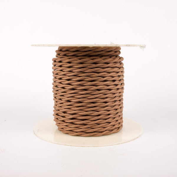 Twisted Cloth Covered Wire - 18 Gauge