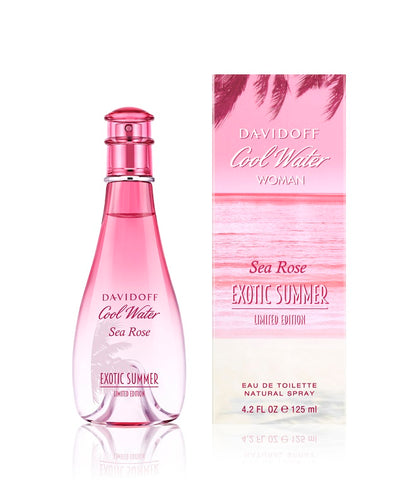 DAVIDOFF COOL WATER WOMAN SEA ROSE EXOTIC SUMMER
