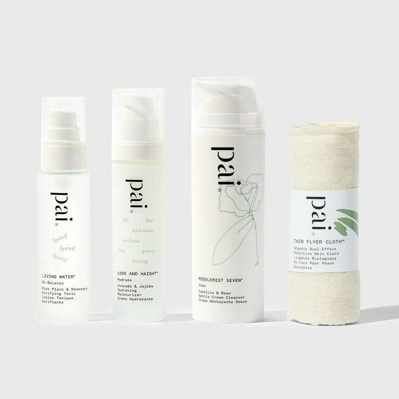 Pai Skincare Bundle Everyday Essentials Kit Cleanser, Tonic & Moisturiser Bundle
