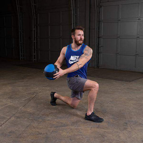 Image of 10lb. Medicine Ball - Blue - Fitness Gear