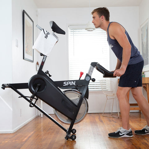 Image of Spinner® L5 - SPIN® Bike - Includes Tablet Mount and Dual Bottle Holder - Fitness Gear