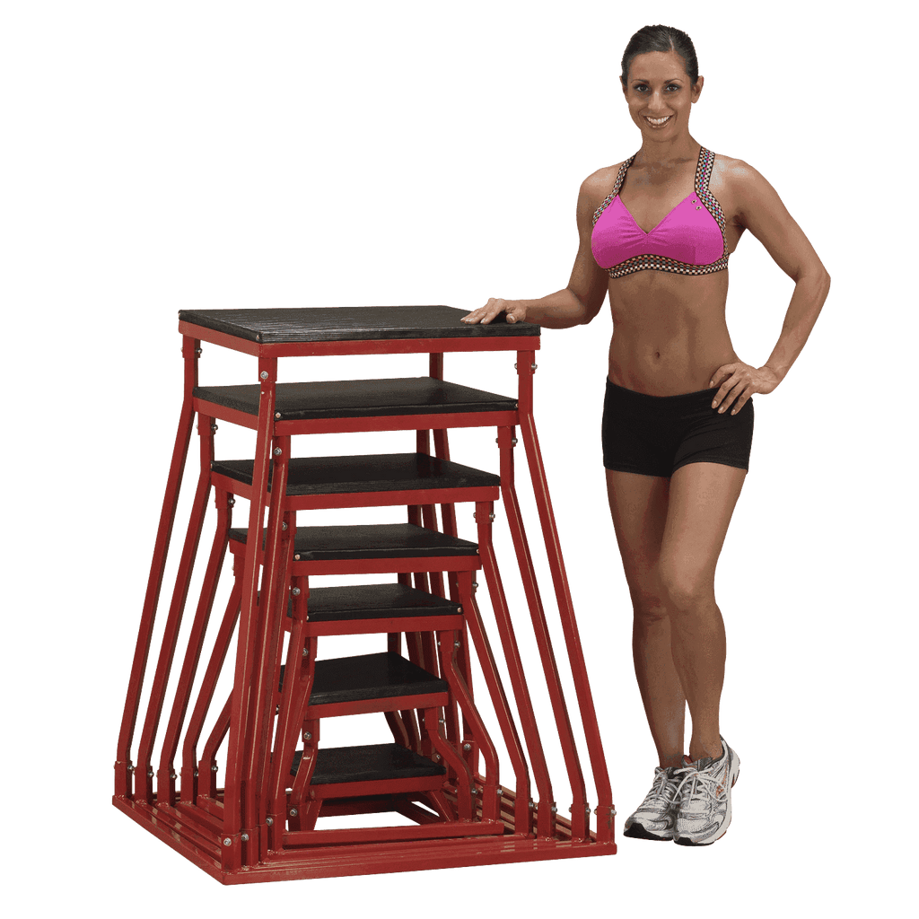 12 inch PLYO BOX-BSTPB12 - Fitness Gear