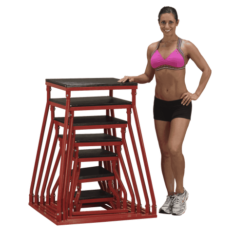 Image of 12 inch PLYO BOX-BSTPB12 - Fitness Gear