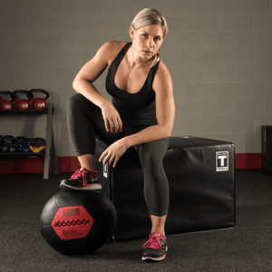 12 LB Soft Medicine Ball (WALL BALL) - Fitness Gear