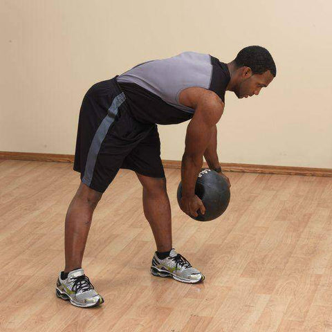 Image of 12lb. Dual Grip Medicine Ball - Fitness Gear